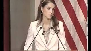 Queen Rania at Harvard