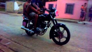 los pavitos de temblador edo monagas dando trompito en moto