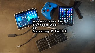 Accessories for Samsung Z Fold 2 and Surface Duo