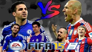 FIFA15 - เก็บแต้มสบายๆสไตล์ Seedling#Chelsea vs Bayern โครตมันส์