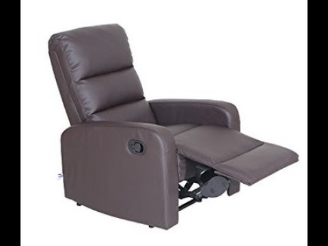 How To Get VIVA HOME Faux Leather PU Leather Ergonomic Recliner Chair  Working