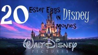 top 20 easter eggs in disney movies