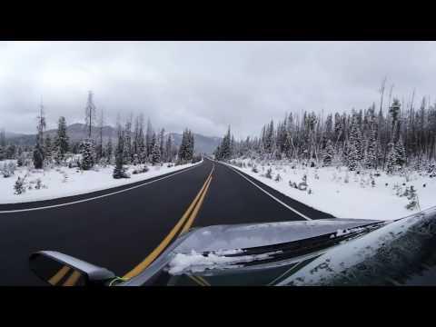 Trail Ridge Road, Rocky Mountain National Park. 360 Video. Nov 2016 12PM