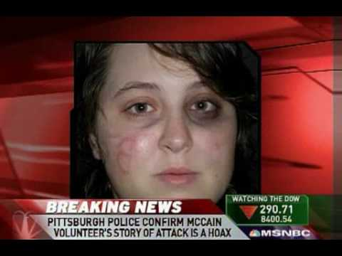 Race Baiting Attack Story Fabricated By McCain Volunteer