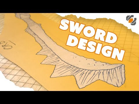 Prop Sword Design 101 - Drawing Tutorial thumbnail