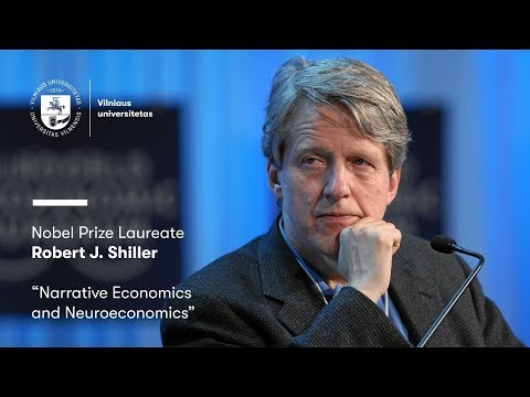 "Open lecture-discussion ""Narrative Economics and Neuroeconomics"" by Robert J. Shiller"