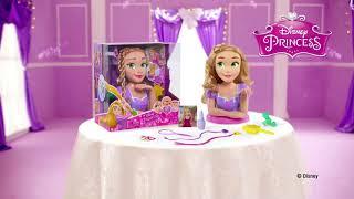 TÊTE À COIFFER de Luxe RAIPONCE Disney - IMC Toys