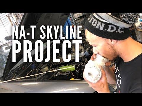 NA T Skyline build begins