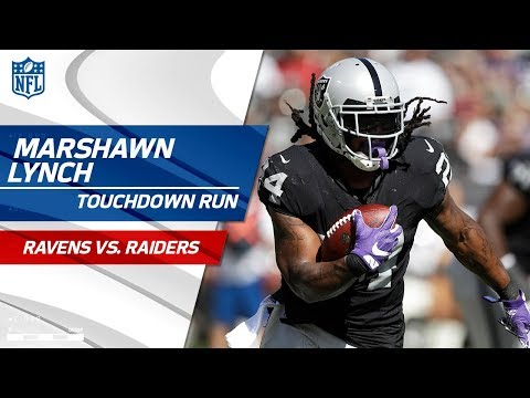 Oakland TD Drive Capped Off by Marshawn Lynch's Powerful Run! | Ravens vs. Raiders | NFL Wk 5