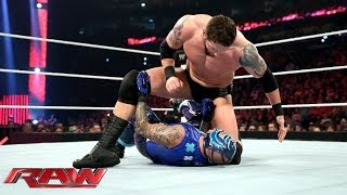 Download Video Rey Mysterio vs. Bad News Barrett: Raw, April 7, 2014 MP3 3GP MP4