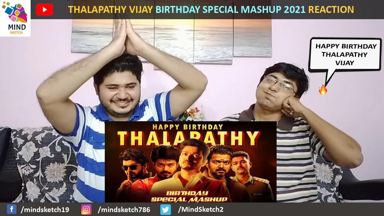 Thalapathy Vijay Birthday Special Mashup Reaction 2021| Vijay 2021 Mashup Pakistani Reaction
