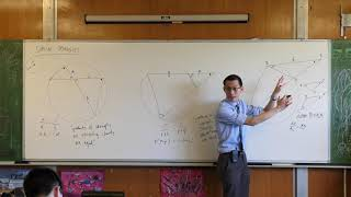 Intercept Properties - Circle Geometry (3 of 3: Tangent & secant)