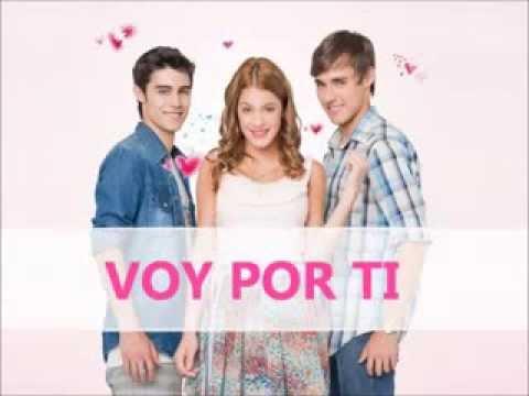 Voy Por Ti - Leon - Violetta (Letra) Cancion Completa.mp4