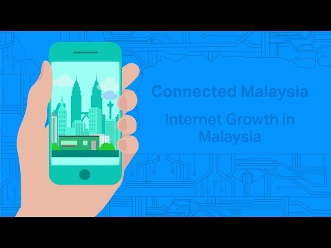 Connected Malaysia: Internet Growth in Malaysia