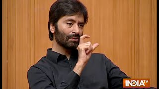 We Want An Independent Kashmir Says Yasin Malik - India TV
