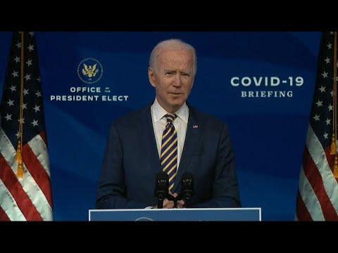 Joe Biden: Trump Administration Vaccine Rollout 'Falling Far Behind'