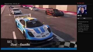Grand Theft Auto V ONLINE LIVE | Racing /  Cash / Heists