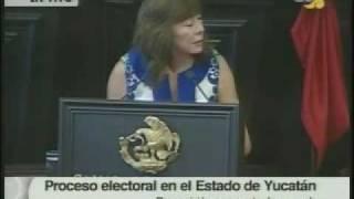 8 julio 09 Senadora Beatriz Zavala Peniche