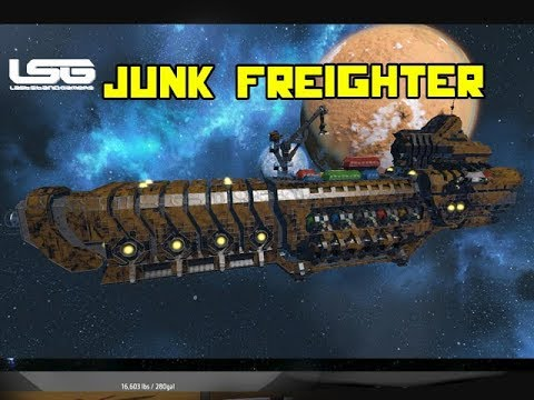 Space Engineers - Junk Planet Freighter