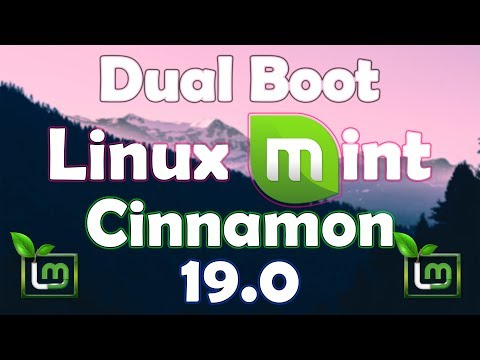How To Dual Boot Linux Mint Cinnamon 19