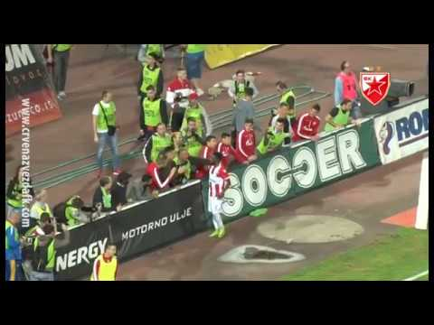 Crvena zvezda - Sparta 2:0, highlights