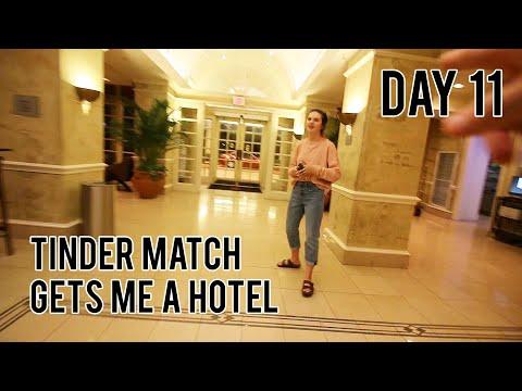 TINDER MATCH BOOKS ME A HOTEL