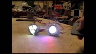 6 Watt Solar Panel 2 Watt LED Light Emitting Diode Indoor Outdoor Lighting