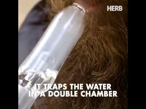 Water filtration herbal vaporizer