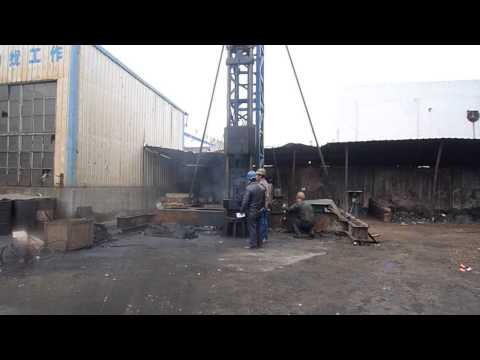 Молот штанговый DD25. Работа на стенде