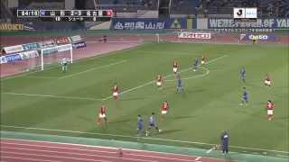 ナビスコカップ予選リーグ第3節 モンテディオ山形×名古屋グランパスのハ...