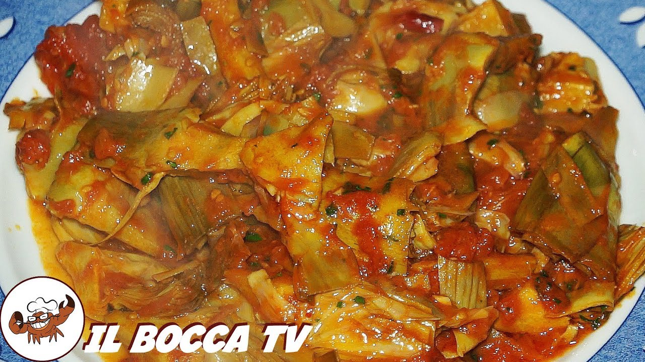 195 carciofi in umido robe da brivido contorno for Carciofi ricette