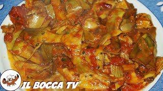 195 - Carciofi in umido..robe da brivido! (contorno vegetariano sano, saporito, facile e veloce)