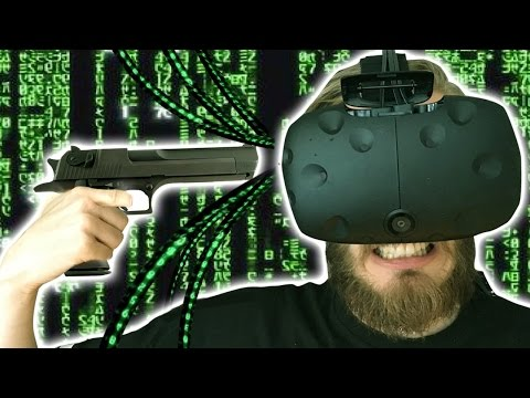 Thumbnail: KILL YOURSELF IN VR?! - (HTC Vive - Part 03)