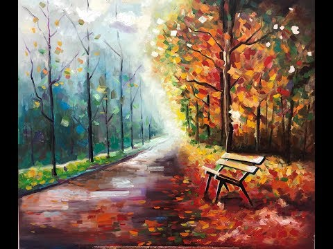 Fantastic Color Painting Works with Oil Painting on Canvas