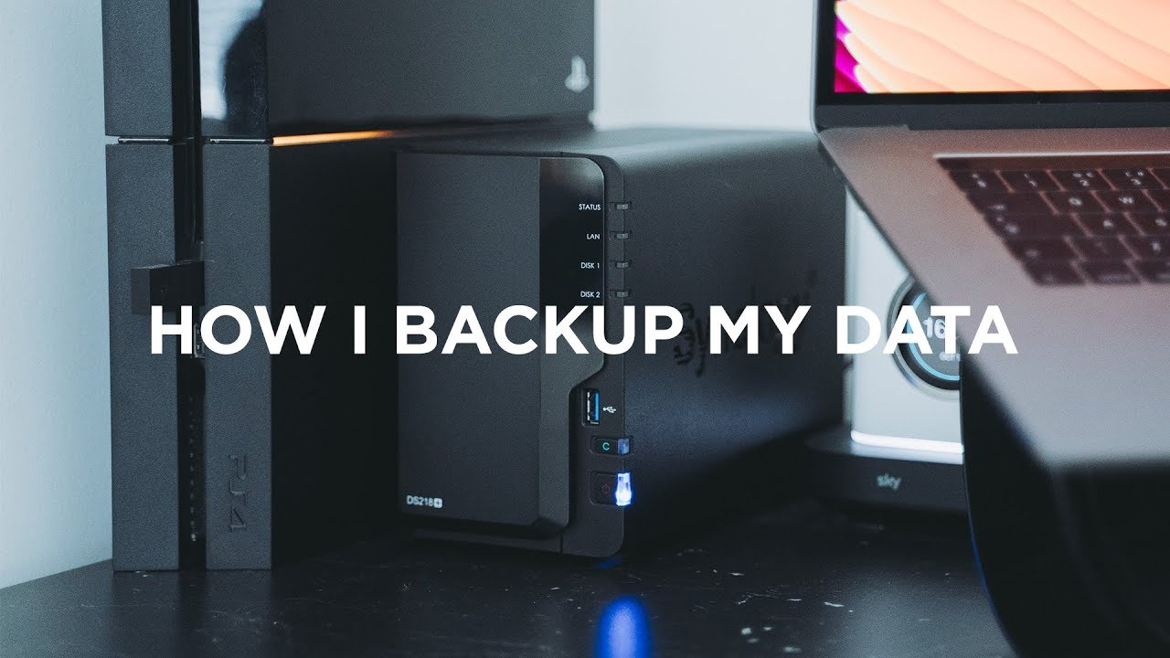 How I Backup My Data | Synology DS218+