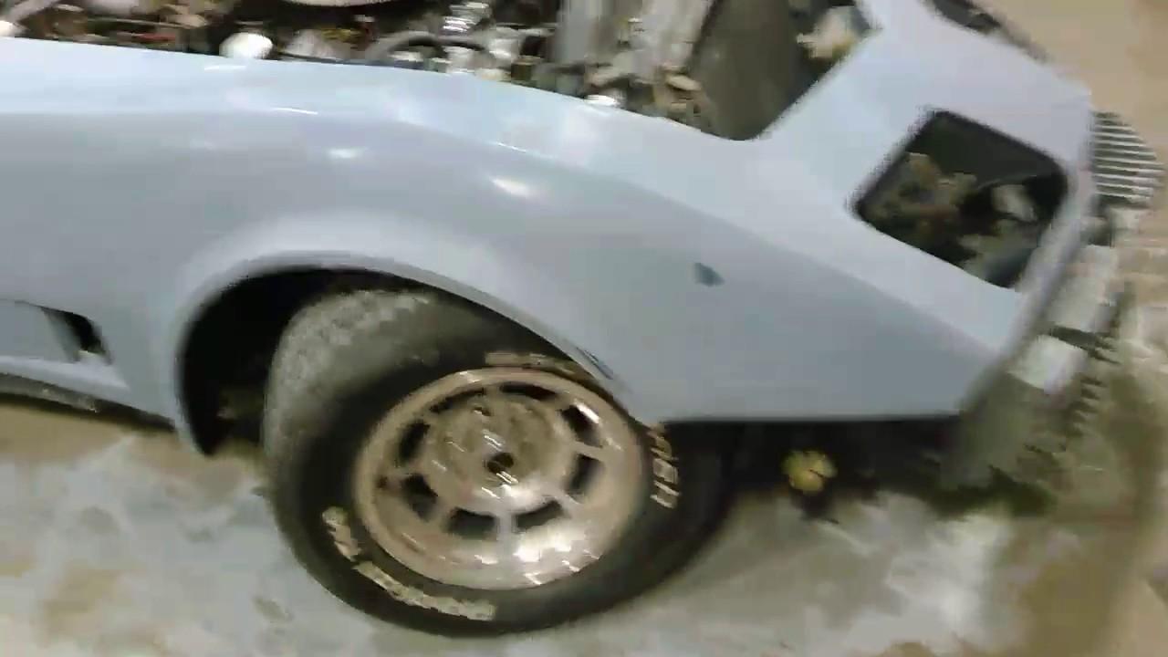 1980 Corvette Restoration / Respray part 2