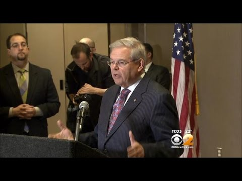 Sen. Robert Menendez Defends Himself Against Anticipated Federal Charges