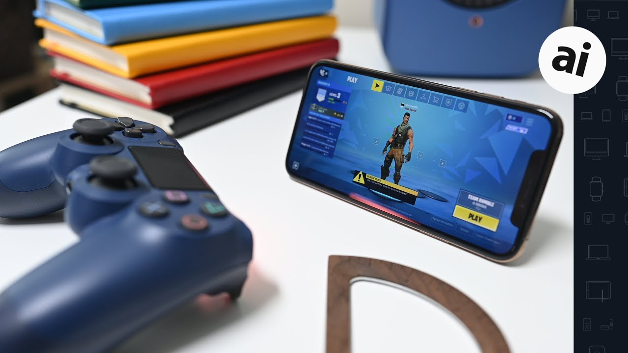 cheap for discount b24dc 357ab DualShock 4 makes Fortnite on iPhone even better with iOS 13
