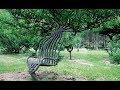 АРБОСКУЛЬПТУРА и ПОКТРЕ. Живые деревья, как материал для создания мебели и арт объектов