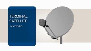 VSAT Tutoriel installation - Antenne 1m et MDM2200 IP Satellite Modem - Newtec Dialog®