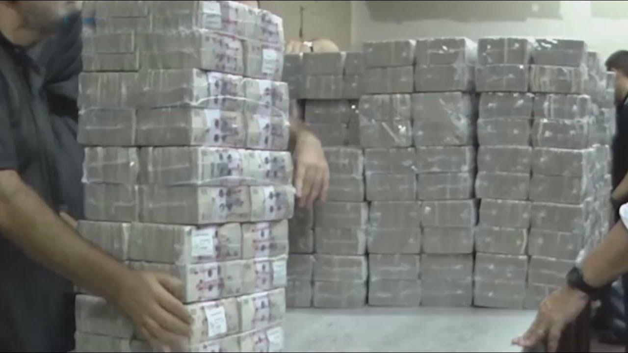 Así funciona la máquina para destruir billetes del Banco Central ...