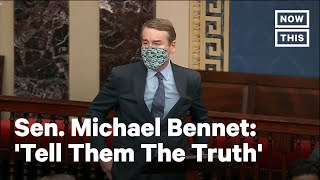 Senator Michael Bennet Responds to Capitol Riots | NowThis