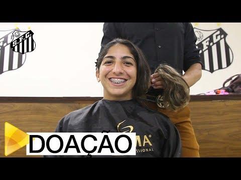 Sereias da Vila doam cabelo para mulheres com câncer | #MUITOALÉMDOFUTEBOL