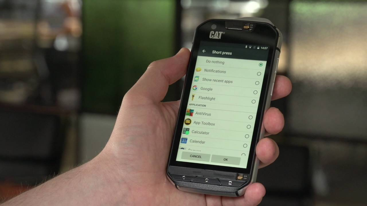 Cat® S60 How-to: Programmable Key