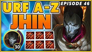 LVL 30 SUPERSPEED JHIN (77 KILLS) - BunnyFuFuu | URF