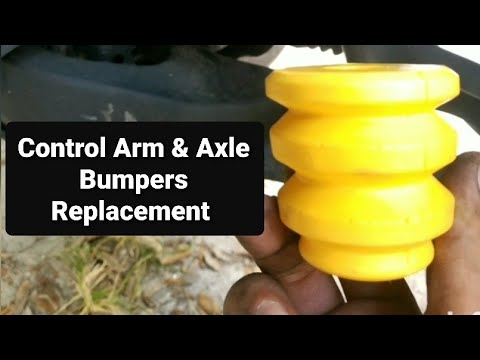 Hummer H3, Control Arm and Rear Axle Bumpers replacement