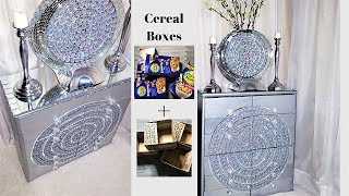 HOW TO TURN CEREAL BOXES| BOXES INTO A UNIQUE STORAGE| HOME ORGANIZATION 2019