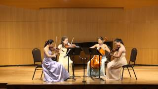 주 하나님 지으신 모든 세계 How Great Thou Art - Ivy String Quartet