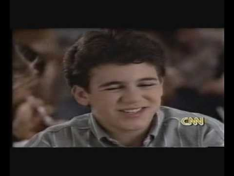 Fred Savage Interview with CNN (1997)