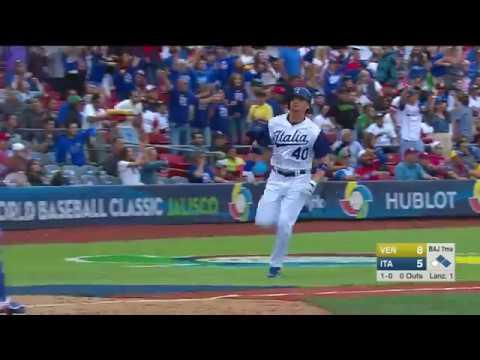 Venezuela vs Italia | 11 -10 | Highlights - Resumen | World Baseball Classic 2017